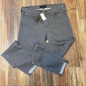 NWT Banana Republic Gray Skinny Jeans